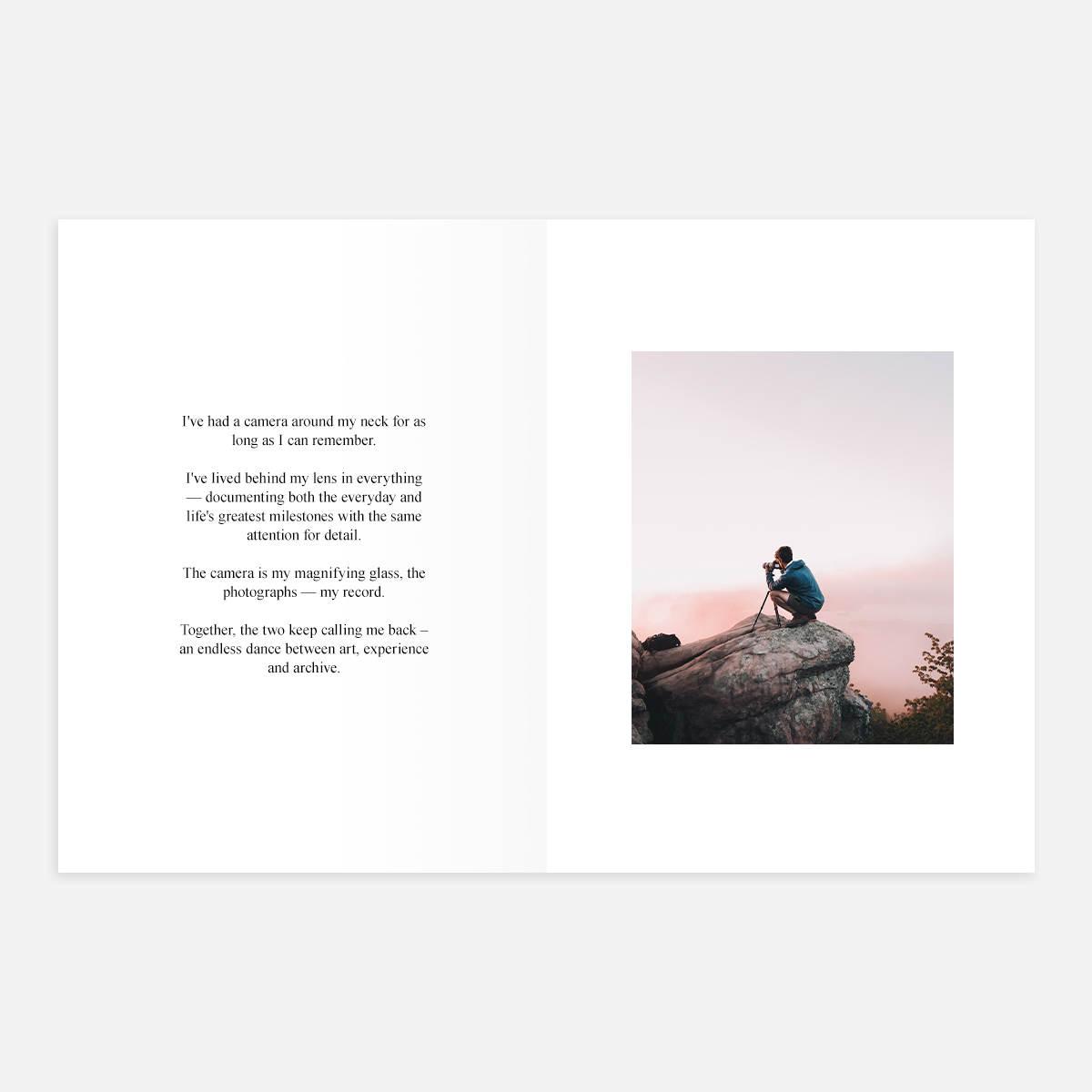 Full Bleed layout in Softcover Photo Book