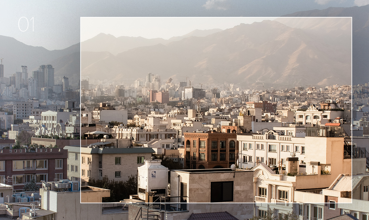 lightroom preset applied to photo of mountainside cityscape