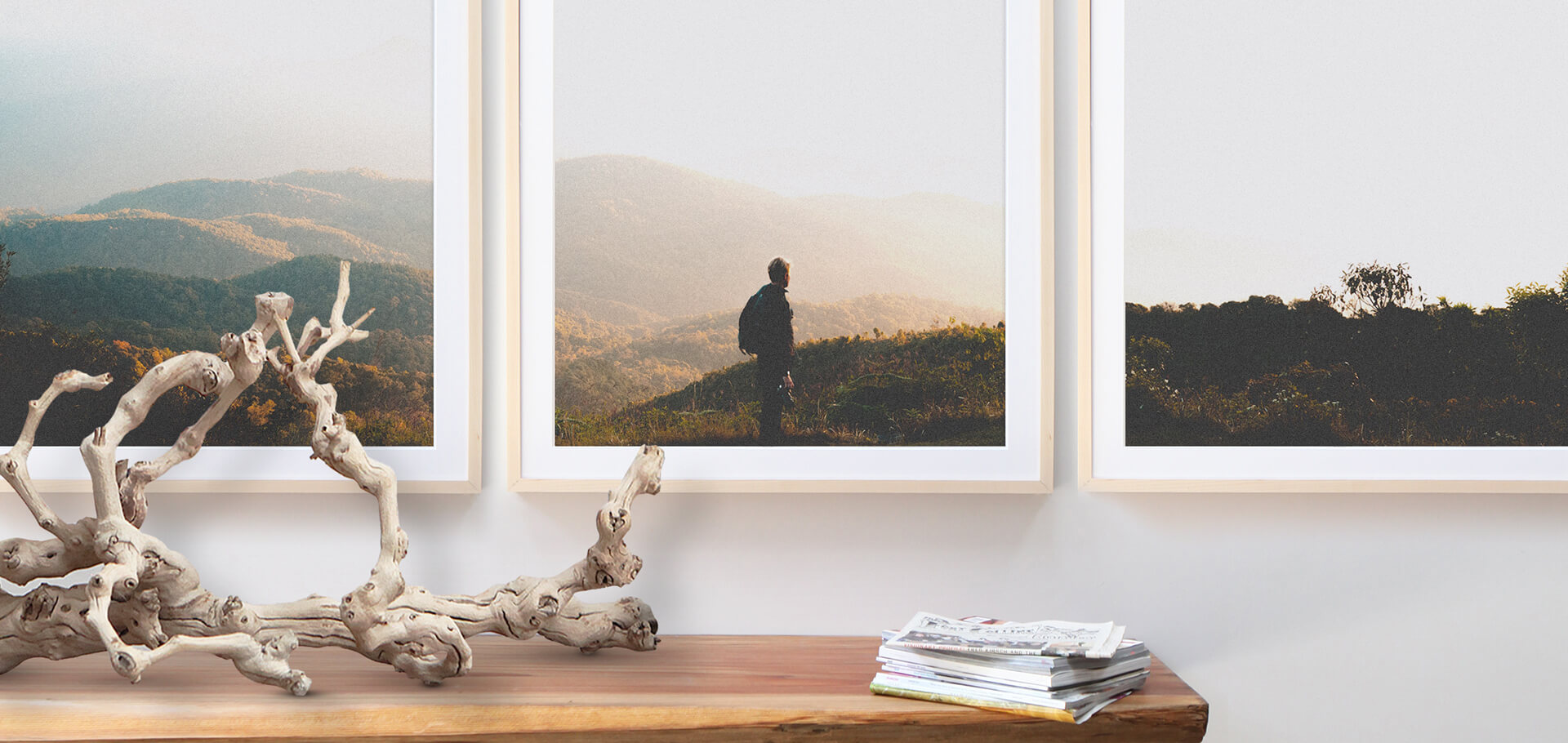 How To Split A Photo Into Frames For A Triptych Gallery Wall