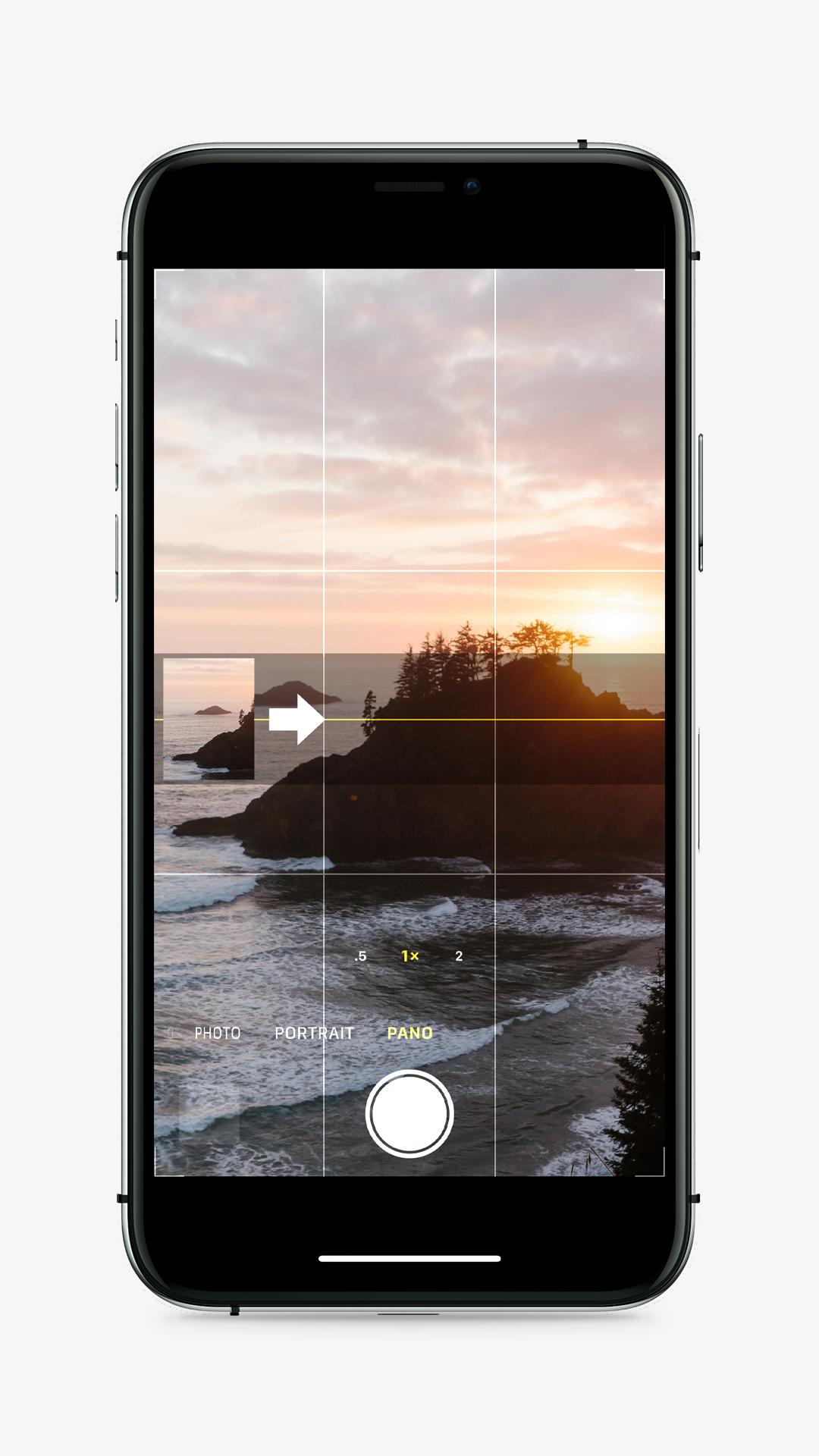 IPhone Pano Mode