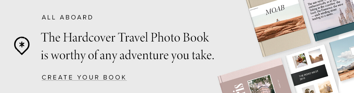 Create a Travel Hardcover Photo Album
