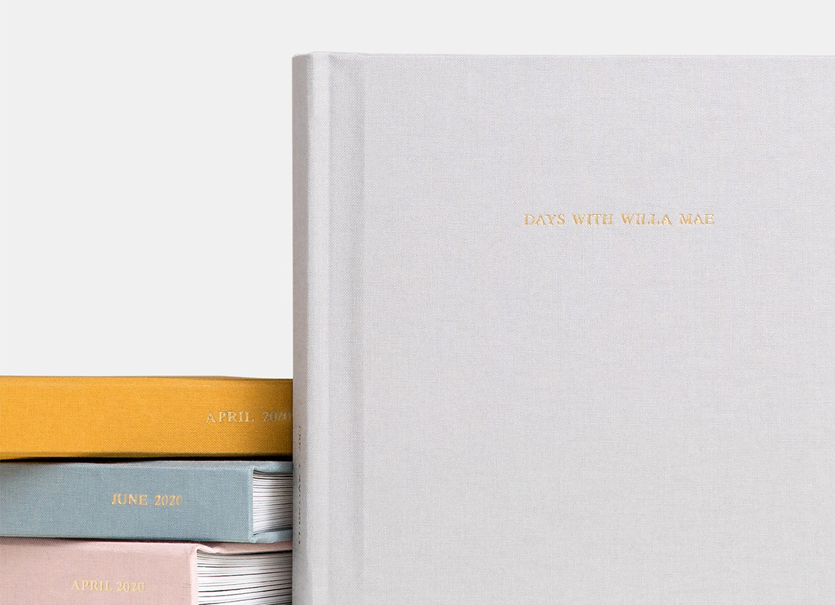 Plant-based linen cover of Everyday Photo Book