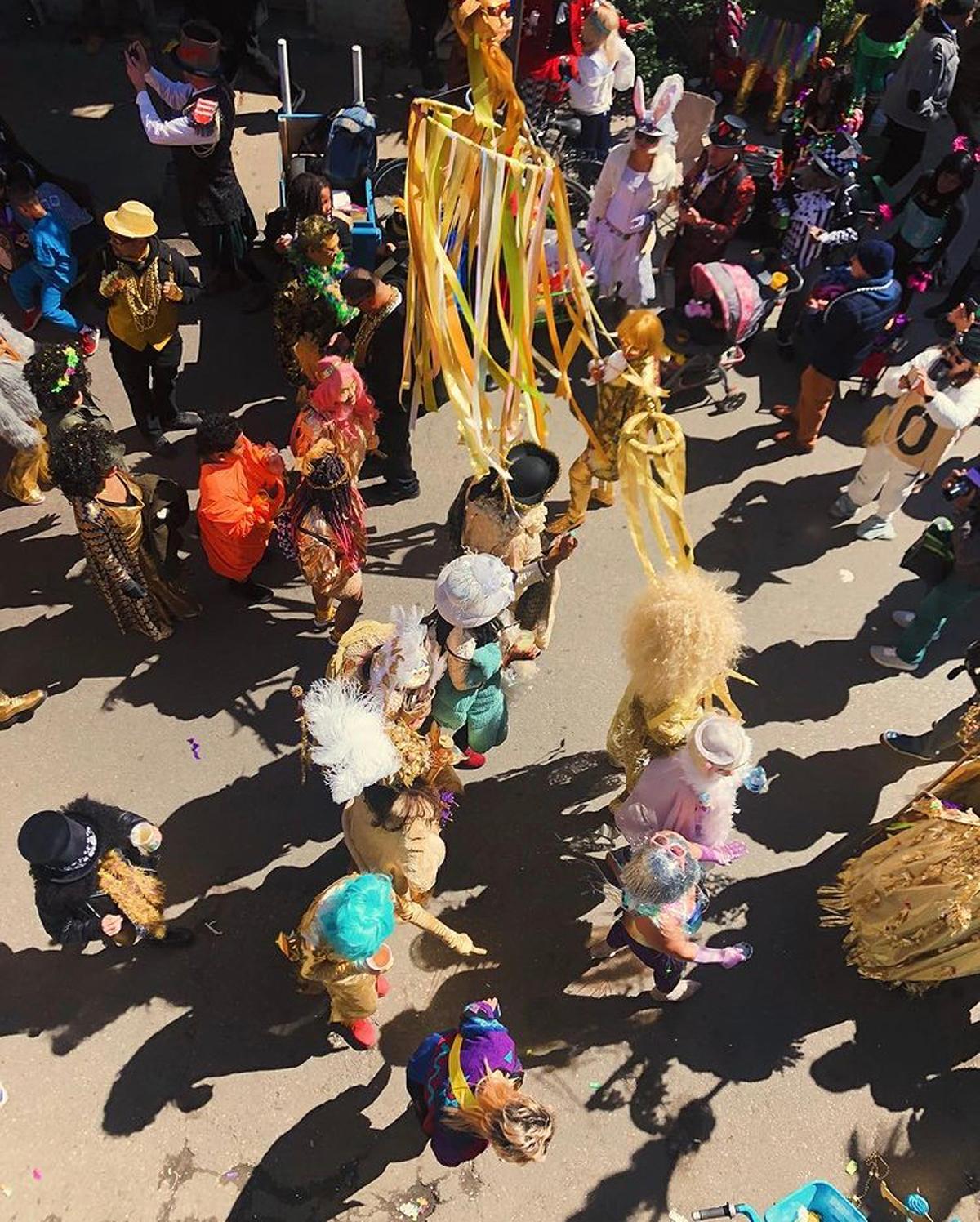 Photo by Molly Olwig of Mardi Gras festivities