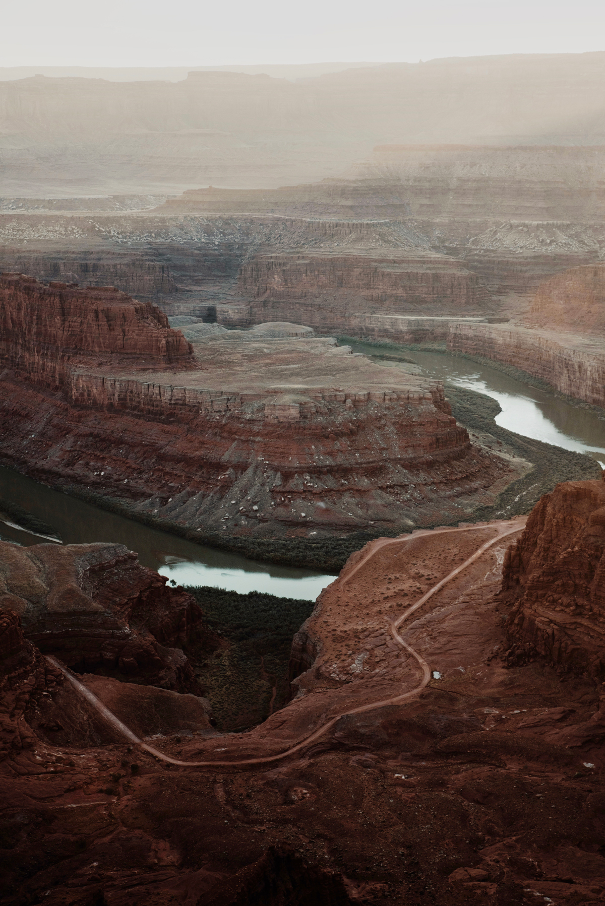 Photo of canyon landscape by Molly Olwig