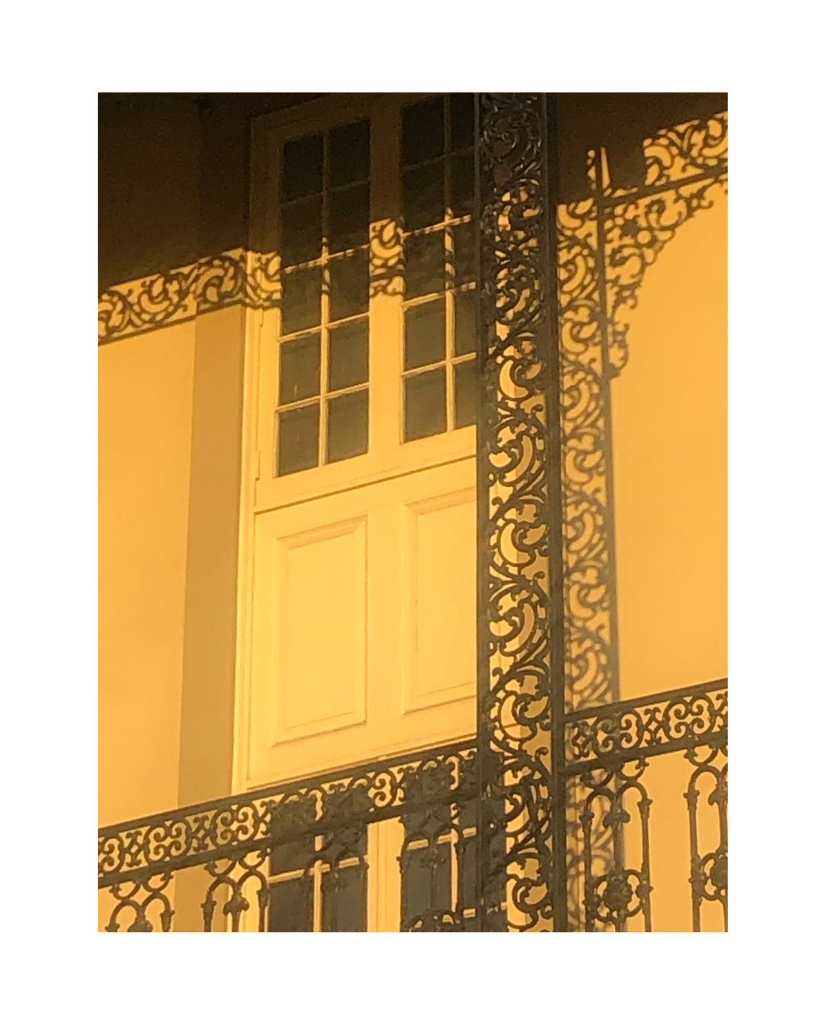 Photo of railings casting unusual shadow by Molly Olwig